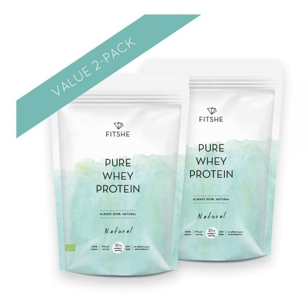 FITSHE multipack pure whey protein natural productimage