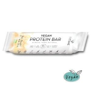 FITSHE vegan protein bar dark chocolate & indian spices productimage