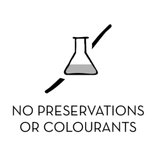 No preservations or colourants