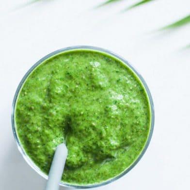 Green healthy shake